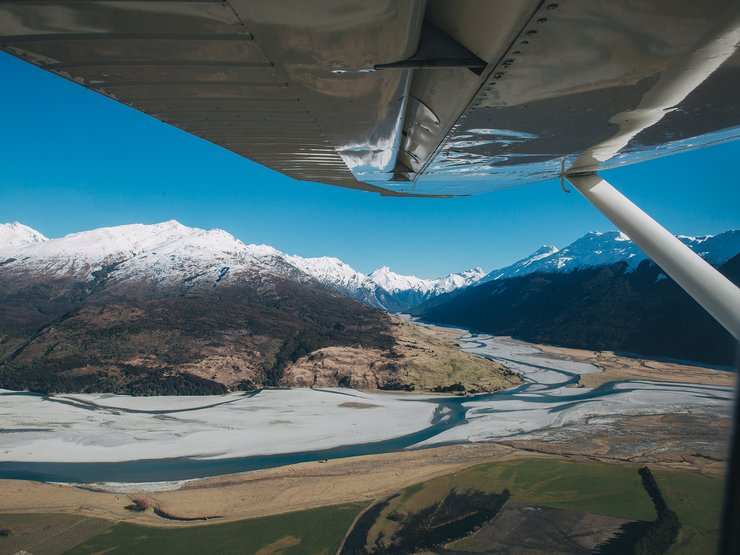 The views of New Zealand are even better from the sky.