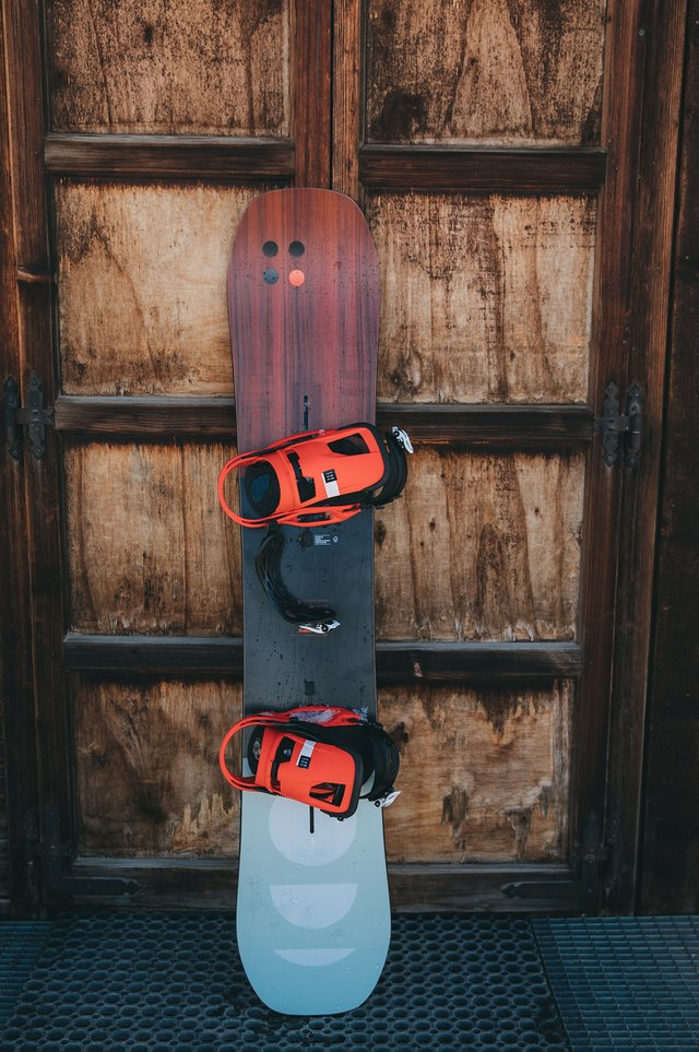 Burton Custom Snowboard with Cartel Bindings