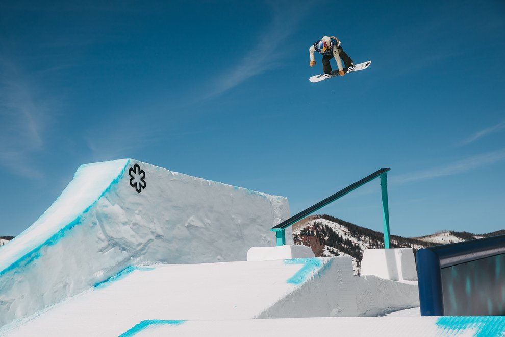 Anna Gasser at the Burton U.S. Open