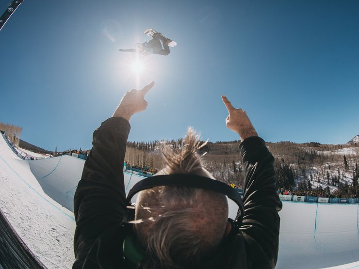 Ben Ferguson's air-to-fakie was legendary. Results: 4th, Halfpipe, USA