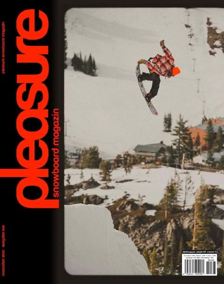 Danny strapped in on a modern deck and multiplied the good times by nailing a cover shot for Pleasure Mag. Thanks guys!