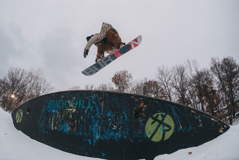 If you're the only person riding the rope tow, does your board slide still make a sound?