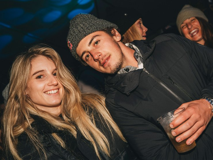 What's up Anna Gasser and Mark McMorris?