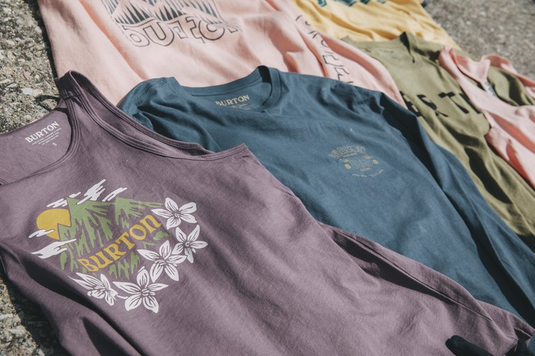 Burton Organic cotton T-shirts